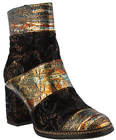 Spring Step L'Artiste by Leather and Textile Boots - Whitney
