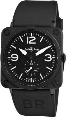 Bell & Ross Women's BRS-MATTE Aviation Small Seconds Dial Watch Watch