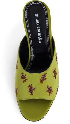 Nicole Saldaña Naomi Embroidered Heel