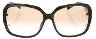 Montblanc Marble Oversize Sunglasses