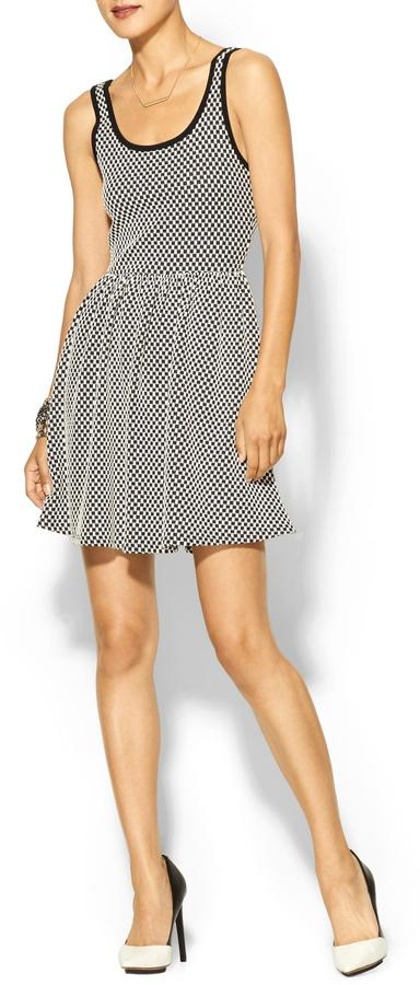 Juicy Couture Everly Clothing Checkered Dress