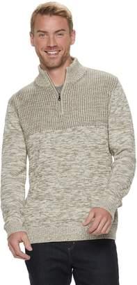 Method Products Men's Regular-Fit Quarter-Zip Mockneck Sweater