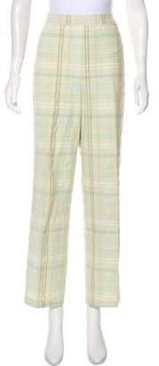 St. John Sport Mid-Rise Straight-Leg Pant