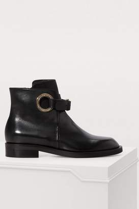 Coliac Geoffrey flat ankle boots
