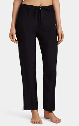 Sleepy Jones Women's Marina Silk Pajama Pants - Black