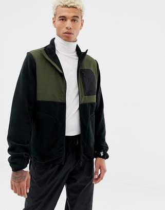 Element Hunter zip through fleece in black
