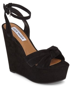 Women's Steve Madden Tylie Platform Wedge Sandal $99.95 thestylecure.com