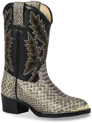 Durango Print Western Toddler & Youth Cowboy Boot - Girl's