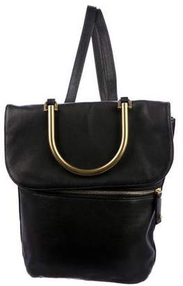 Sarah Jessica Parker Oath Leather Convertible Backpack