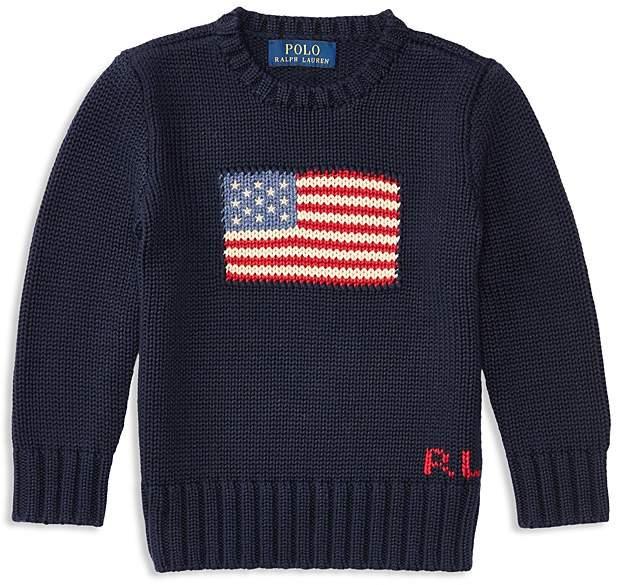 Boys' American Flag Sweater - Little Kid