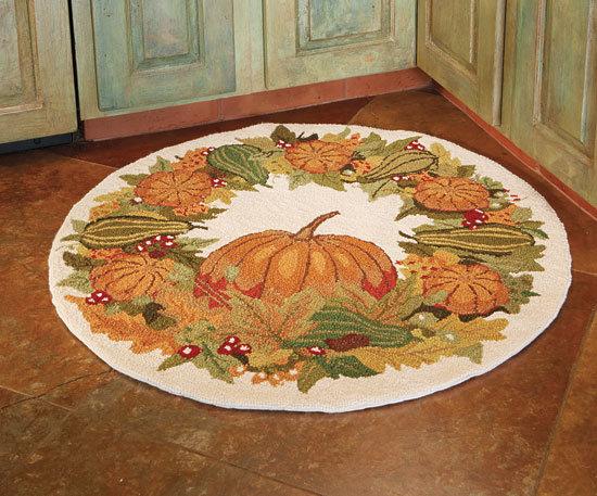 Napa Style Pumpkin Harvest Rugs