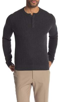 Perry Ellis Knit Henley