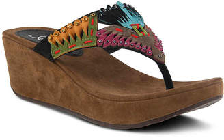 Azura Headress Wedge Sandal - Women's