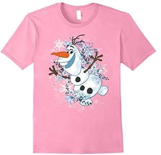 Disney Frozen Olaf Dancing In The Snowflakes Graphic T-Shirt