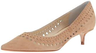 Butter Shoes Women's Design Perforated D'Orsay Pump