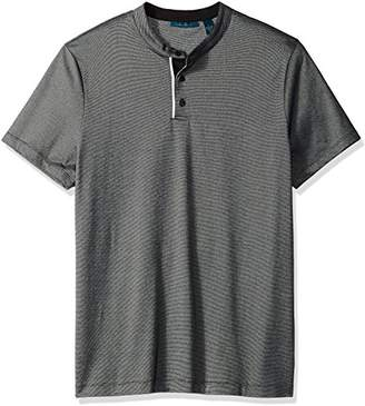 Perry Ellis Men's Essential End Henley Tee