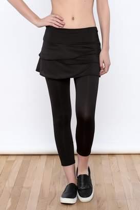 Lucky In Love Tiered Capri Skirt