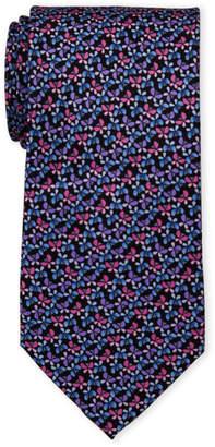 Pierre Cardin Butterfly Print Silk Tie