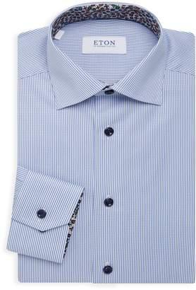 Eton Slim-Fit Fine Pinstripe Dress Shirt