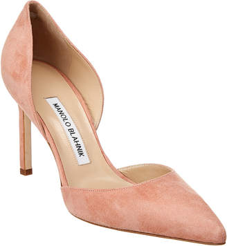 883e920d70b1 Manolo Blahnik Pink Pumps - ShopStyle