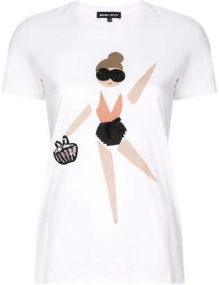 Markus Lupfer embellished doll T-shirt