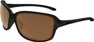 Oakley Women's Cohort Polarized Iridium Rectangular Sunglasses