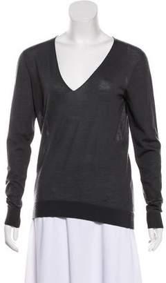 Balenciaga Long Sleeve Cashmere Top