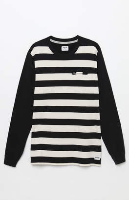 Hurley Moto Jersey Stripe Long Sleeve T-Shirt