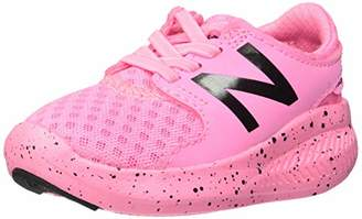New Balance Girls' Coast V3 FuelCore Bungee Running Shoe