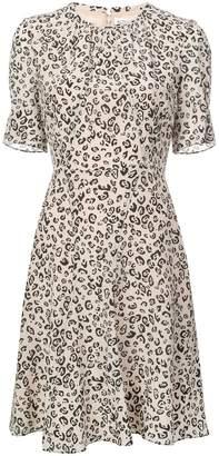 Altuzarra leopard print flared dress