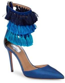 Aquazzura Fringed Stiletto Pumps
