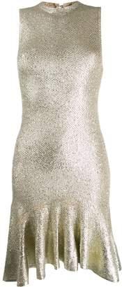 Alexander McQueen laddered knit dress