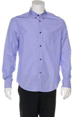 Band Of Outsiders Embroidered Button-Up Shirt