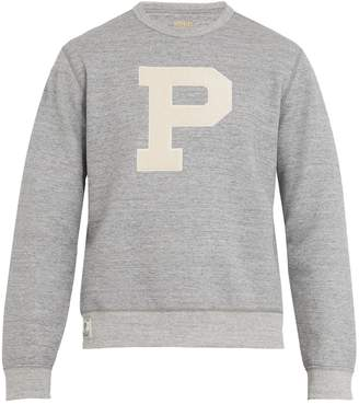 COM � Polo Ralph Lauren P-appliqu� jersey sweatshirt
