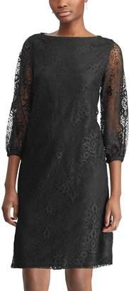 Chaps Petites Lace Sheath Dress
