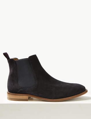 quality design b3496 dbe8c M S Collection LuxuryMarks and Spencer Suede Chelsea Boots
