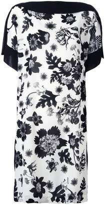 Antonio Marras floral print shift dress