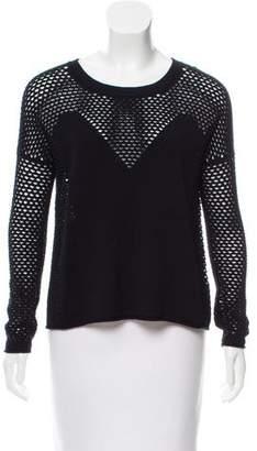 Tess Giberson Open Knit Wool Sweater