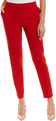 Oscar de la Renta Wool-Blend Skinny Pant