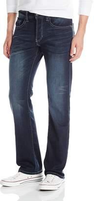 Buffalo David Bitton Men's King Slim Fit Bootcut Jean