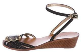 Marc Jacobs Embellished Suede Sandals