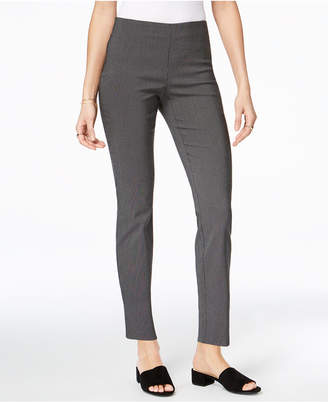 Charter Club Chelsea Patterned Skinny-Leg Ankle Pants