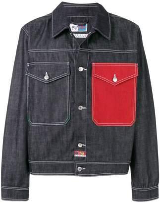 Kenzo Cropped Denim jacket