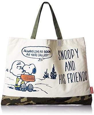 Snoopy [スヌーピー(ピーナッツ)] トートバッグ B4対応 45287 WH シロ