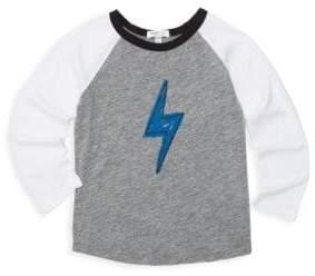 Lightning Bolt Joah Love Little Boy's& Boy's Raglan Tee