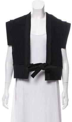 Lanvin Wool Cap Sleeve Vest