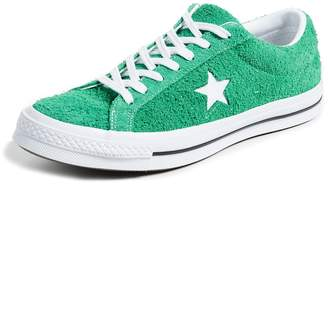 ... Converse One Star Suede Sneakers