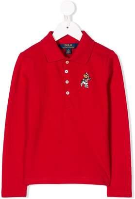Ralph Lauren Kids Polo Bear hoodie