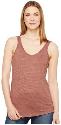 Alternative - Castaway Eco-Jersey Stripe Tank Top Women's Sleeveless $34 thestylecure.com