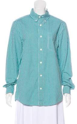 Jack Spade Gingham Button-Up